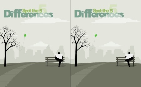 Jeu Flash : 5 differences
