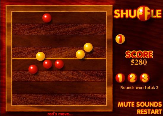 Jeu Flash : Shuffle
