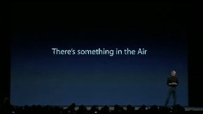 There is something in the air