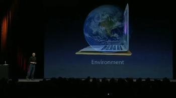 Mac book air et environnement