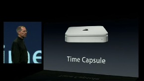 Time Capsule et Jobs