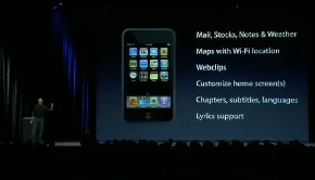 ipod touch news