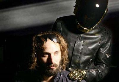 Sebastien Tellier et un Daft Punk