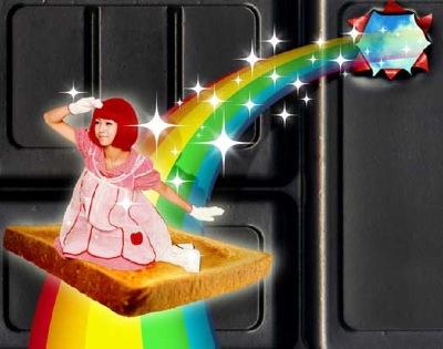 image toast girl