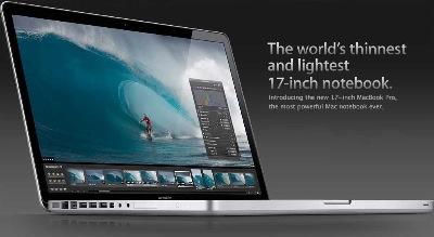 macworld 39 09 dynamictic nouveau macbook pro 17 pouces pr sentation macworld 2009 le blog. Black Bedroom Furniture Sets. Home Design Ideas