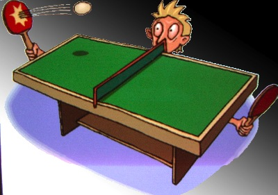 video insolite ping pong