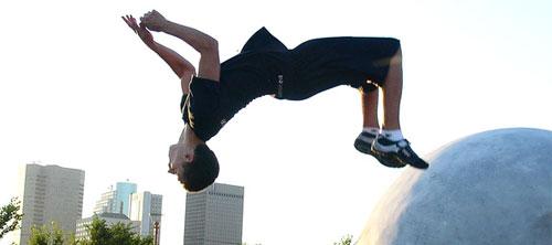 backflip ballon yoga
