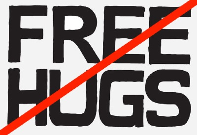 not free hugs