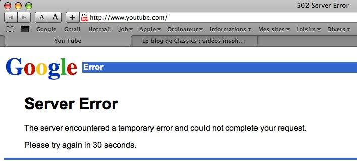 youtube-erreur