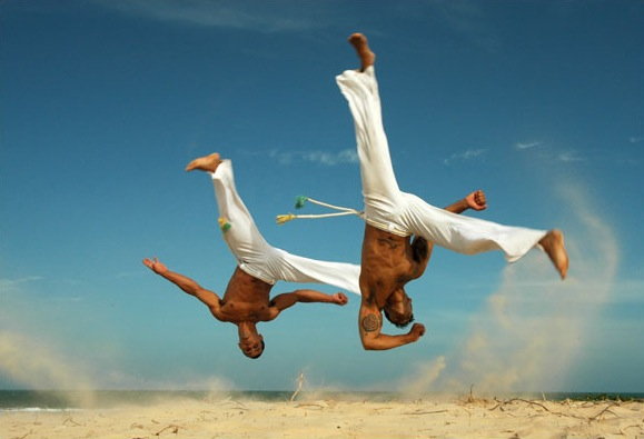 capoeira breakdance football