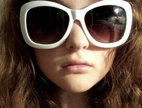fille à lunettes sexy