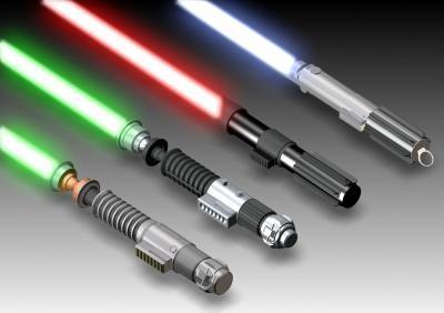 jedi : badminton sabre laser