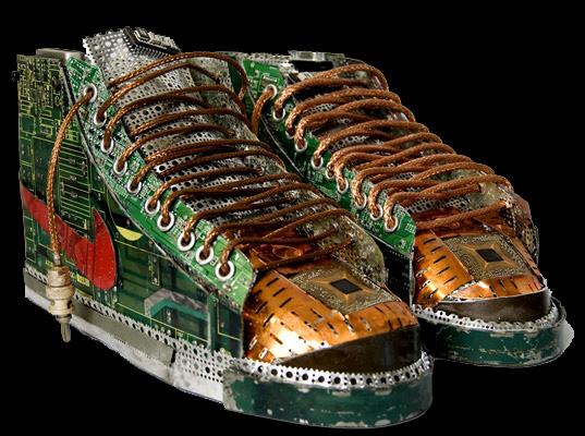chaussure insolite geek