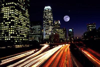 Vol au dessus de Los Angeles