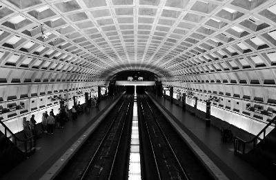 course contre le metro