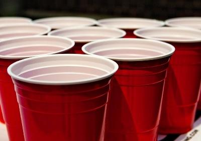 beer pong shots