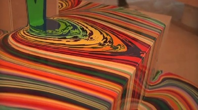 peinture psychedelique