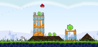 Angry birds flash dynamictic la version flash du jeu le - Jeu info angry birds ...