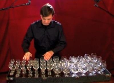 concert verres d'eau