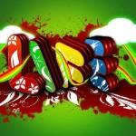 graffiti paintball