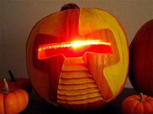 citrouille robot