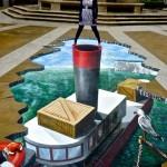 Peinture 3d : bateau