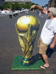 Peinture 3d : coupe du monde