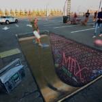Peinture 3d : skateboard
