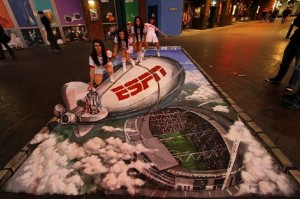 Peinture 3d : ESPN