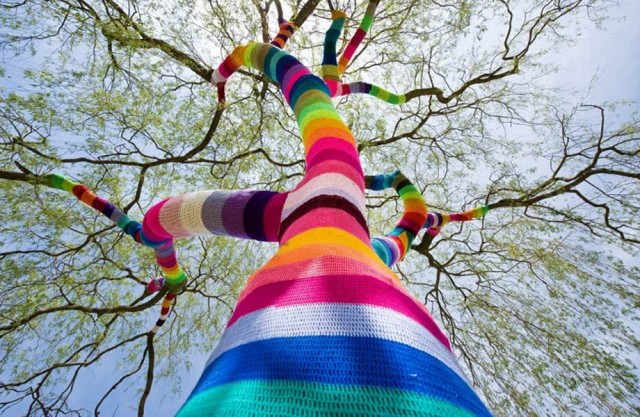 urban knitting arbre