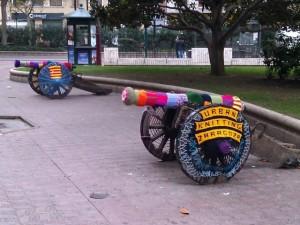 Urban knitting canon