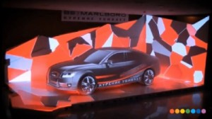 voiture video mapping