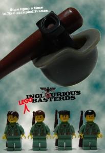 Affiche film Lego Inglourious Basterds