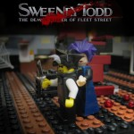 Affiche film Lego Sweeny Todd
