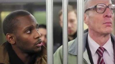 bonjour dans le metro