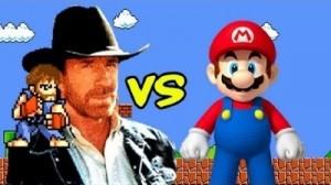 Chuck Norris Mario