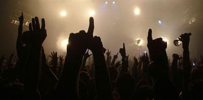 concert et fans