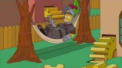 Les Simpsons Game of Thrones
