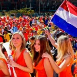 Supportrices des Pays-Bas sexy