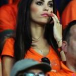 Supportrice inquiète pour les Pays-Bas