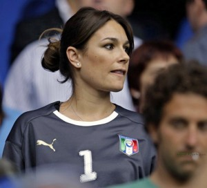 Supportrice italienne vip