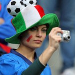 Supportrice italienne et photos