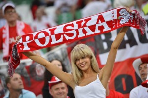Supportrice polonaise sexy