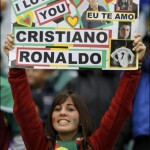 Supportrice fan de Ronaldo
