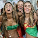 Supportrices portugaises sexy