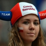 Supportrice Tchèque Euro 2012