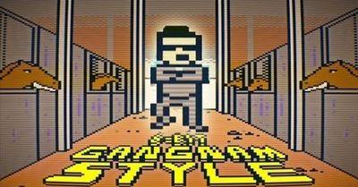 gangnam style 8-bits