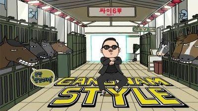 gangnam style flip book