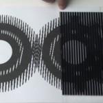 illusion d'optique en mouvement