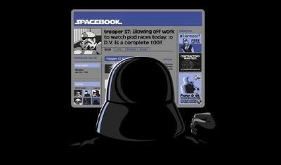 Dark Vador sur Facebook